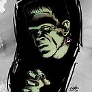 FRANKENSTEIN IN COLOR by mrbones