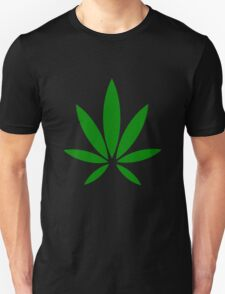 hemp symbol green T-Shirt