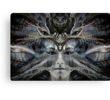 Homage to Giger Canvas Print