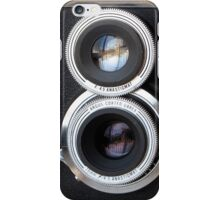 Vintage TLR Film Camera iPhone Case/Skin