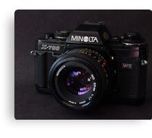 Classic 35mm Film Camera Canvas Print