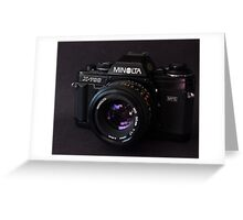 Classic 35mm Film Camera Greeting Card