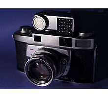 Vintage 1950's 35mm Film Camera Photographic Print