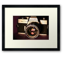 Classic 1960's 35mm SLR Camera Framed Print