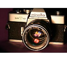 Classic 1960's 35mm SLR Camera Photographic Print