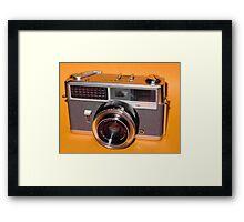 Vintage Camera 1960s  Framed Print