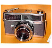 Vintage Camera 1960s  Poster
