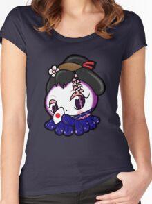 Geisha Tako-Chan Women's Fitted Scoop T-Shirt