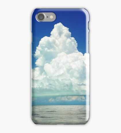Giant Cloud Scenery iPhone Case/Skin