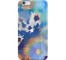 Welcome Spring Abstract Floral Digital Watercolor Painting 2 iPhone Case/Skin