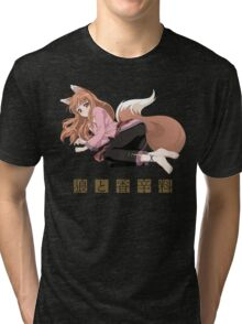 Spice and Wolf Tri-blend T-Shirt