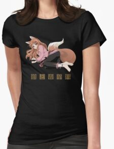 Spice and Wolf Womens Fitted T-Shirt