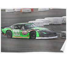 Double Zero  Evergreen Speedway, Monroe, WA Poster