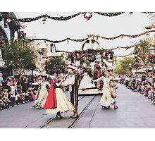 A Christmas Fantasy Parade  Photographic Print
