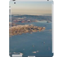 A Plane's Eye View of the San Francisco Bay and Beyond iPad Case/Skin