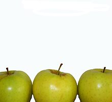three apples by Heather LaBone