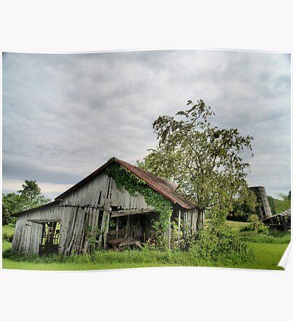 Old Barns Series #2 Poster