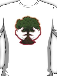 Tree Hug Design T-Shirt