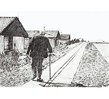 'The Road to Home' Photographic Print