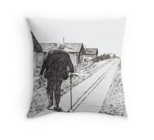 'The Road to Home' Throw Pillow