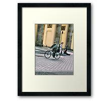 Bisikleta Ni Lolo Framed Print