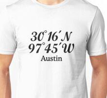 Austin Coordinates Unisex T-Shirt
