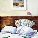 The Morning After Bedroom Interior by Zehda