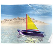 Sailing on a Dream Poster