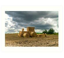 Eco farming Art Print
