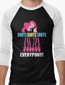 Pinkie Party Men's Baseball ¾ T-Shirt