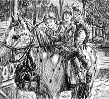 Pippi Longstocking by la5me