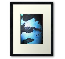 tri close up 2 Framed Print