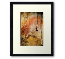 """Rainbow Beach"" Framed Print"