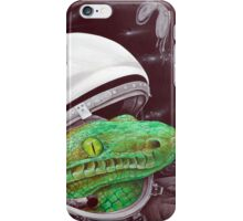 snake in the space iPhone Case/Skin