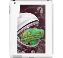 snake in the space iPad Case/Skin