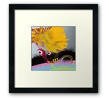 Jazz boy Music Framed Print
