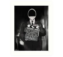 Corky the Film Director Art Print