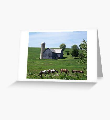 Barn on Shaffer Road Greeting Card