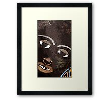 He Watches Framed Print