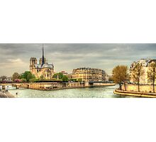Island In The Seine .. A Dedication To Sharon Photographic Print