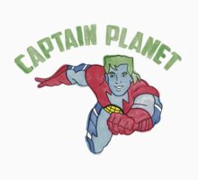 Captain Planet  One Piece - Short Sleeve