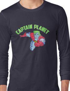Captain Planet  Long Sleeve T-Shirt