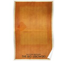 The Big Lebowski Minimal Poster Poster