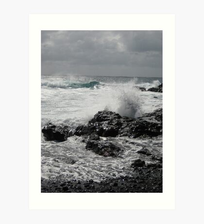 Lanzarote Beach Art Print