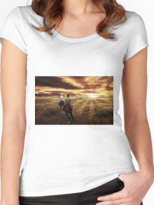 Central Queensland  Women's Fitted Scoop T-Shirt