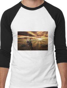 Central Queensland  Men's Baseball ¾ T-Shirt