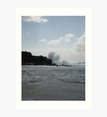 Lanzarote waves Art Print