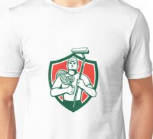 High Rise Window Cleaner Shield Retro Unisex T-Shirt