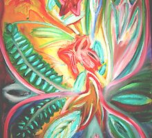 Flowers of the nite.. by mitchflowerart