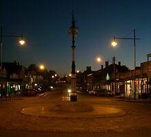 Beechworth at dusk by William Mason